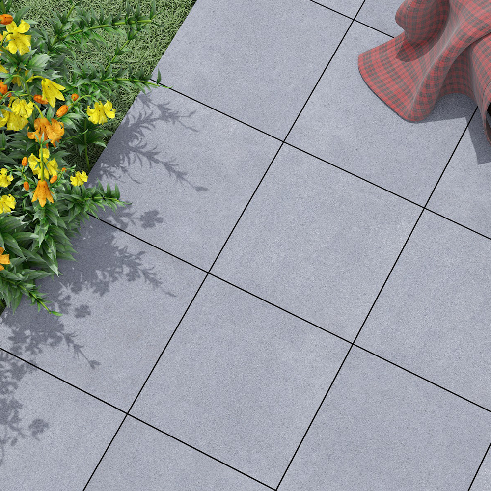 """Granito Gray 24""""x24"""" Porcelain Outdoor Paver"""
