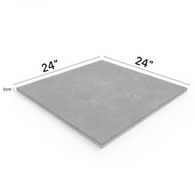 """Street Pearl 24""""x24"""" Porcelain Outdoor Paver"""